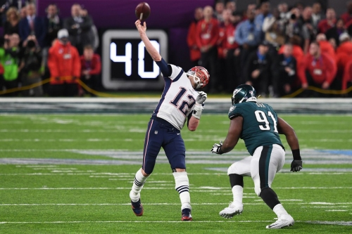 Oddsmakers expect a Patriots - Eagles rematch in Super Bowl 53