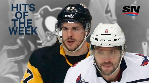 Hits of the Week: Ovechkin crunches Crosby