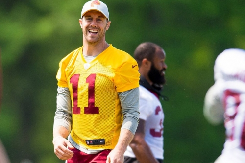 Daily Slop: After Season On Practice Squad, Robert Davis Is Ready; Will the Redskins trying a 34-year-old QB for the third time be a charm?