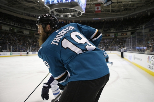 BREAKING: Sharks' Joe Thornton had fully torn ACL, MCL in right knee
