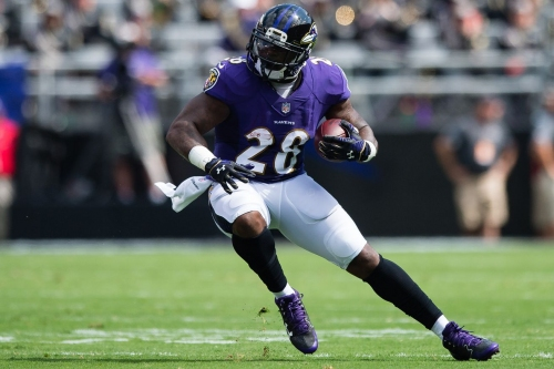 Report: Eagles host Terrance West on free agent visit