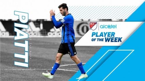MLS PLAYER OF THE WEEK: Montreal's Piatti makes an impact