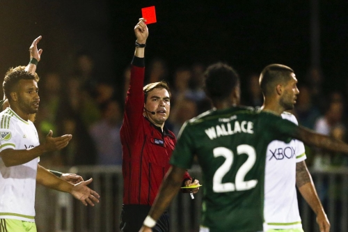 Referee from Red Card Wedding will work Sounders-Timbers match