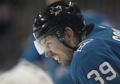 "Sharks' Logan Couture on long-term future: ""This is the place I want to play"""