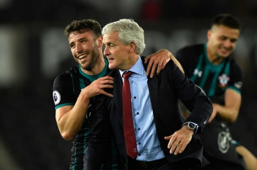 Southampton boss Mark Hughes suggests hotel chaos served as extra motivation in crucial victory over Swansea City