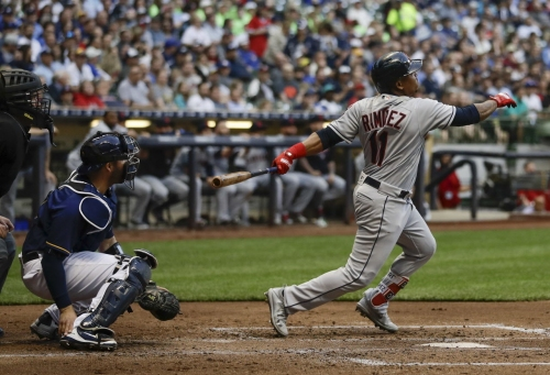 Corey Kluber can't keep ball in the park as Brewers hand Cleveland Indians 4th straight loss, 3-2