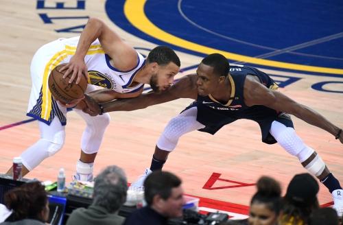 Photos: Splash Brothers, Durant finish off Pelicans