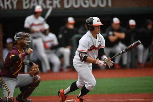 Recap: Oregon State Baseball Complete Season Sweep Over Oregon