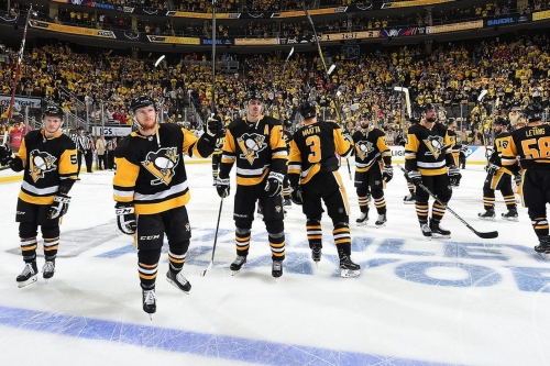 Thank you for the memories that will last a lifetime, Penguins
