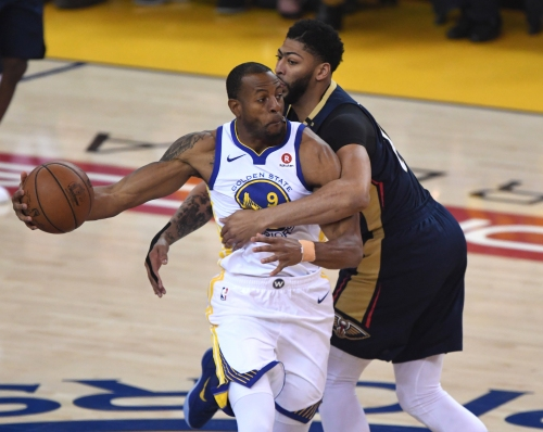 Warriors' forward Andre Iguodala proves value in Game 5 without even playing