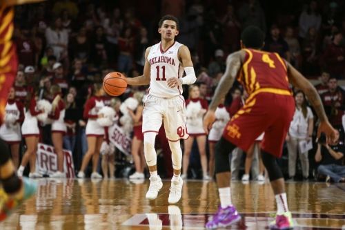 Oklahoma basketball: Trae Young meets Steph Curry at Warriors game
