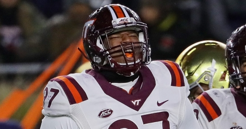 Former Virginia Tech DT Tim Settle to wear No. 97 with Washington Redskins