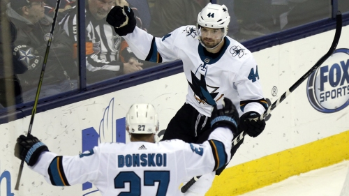 Canada adds Sharks defenceman Vlasic to world hockey championship team