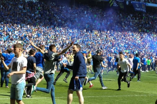 Blakey's Bootroom fans special: Nathan Blake and Cardiff City supporters reflect on euphoric promotion