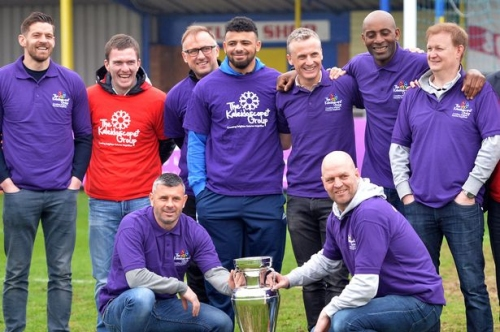 Aston Villa and Birmingham City greats ready for the inaugural Nick Mowl Cup