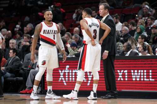 """CJ McCollum: Breaking Up Backcourt Is a """"Lateral Move"""""""