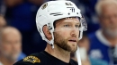 Bruins Breakup Day Notes: David Backes Getting Well-Acquainted With Hospitals