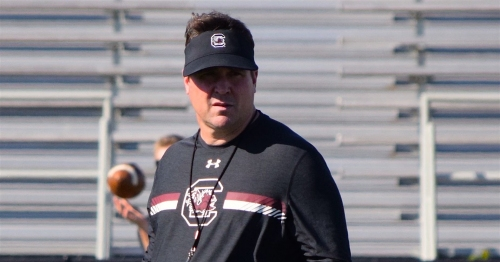 South Carolina football: Will Muschamp speaks in Anderson, hometown of Zacch Pickens