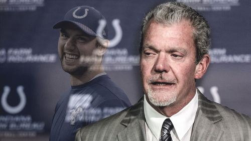 Jim Irsay says Colts 'pretty formidable' with Andrew Luck healthy
