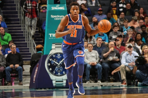 David Fizdale excited to coach Knicks guard Frank Ntilikina