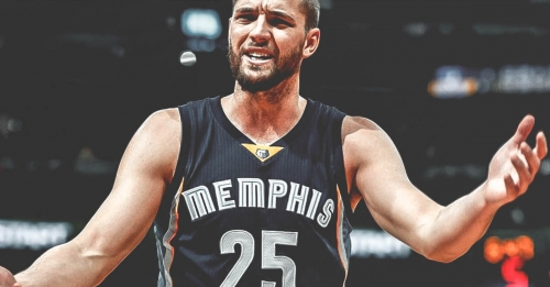 Chandler Parsons goes 0-100 inappropriate real quick in Instagram post