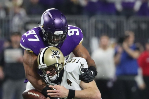 Willie McGinest ranks Everson Griffen among NFL's five best pass rushers