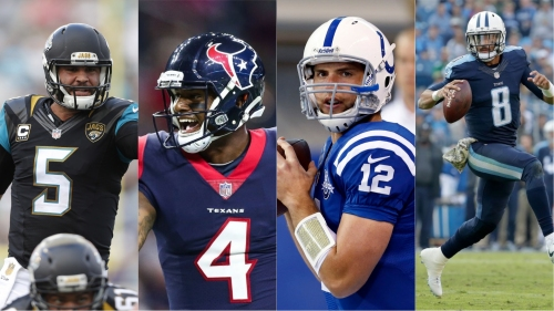 2018 NFL Draft grades: AFC South (Colts, Jaguars, Texans, Titans)