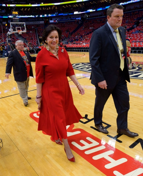Pelicans owner Gayle Benson: I am confident we are headed in the right direction