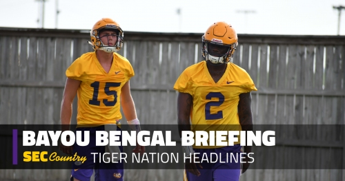 It's early May and LSU football's QB competition is somehow more complicated than ever