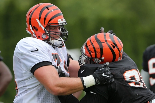 Frank Pollack already has Bengals' offensive line working harder than they're used to