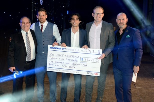 This is the latest on Birmingham City's Cure Leukaemia fund-raiser - and there's more time to help