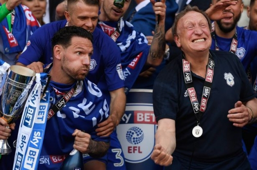 Cardiff City boss Neil Warnock gives his reaction to Swansea City's impending relegation