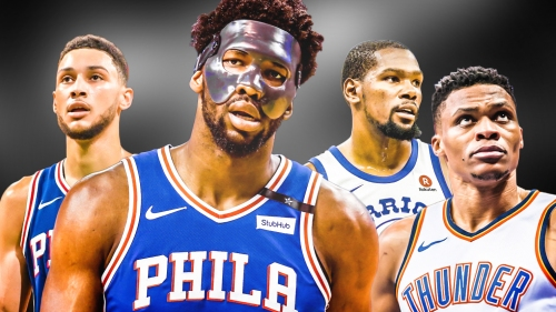 Joel Embiid compares himself, Ben Simmons to Kevin Durant, Russell Westbrook duo
