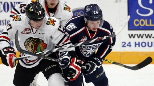 Hurricanes sign Morgan Geekie to entry-level deal
