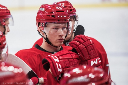 Canes sign Geekie to entry-level deal