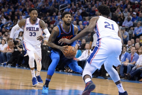 Sixers with 3rd highest odds as destination for Paul George