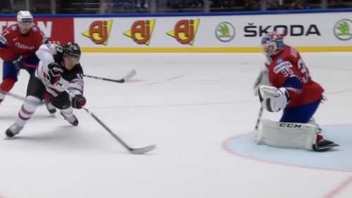 Bo Horvat scores two for Canada, including a shorthanded beauty