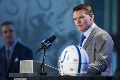 Colts GM Chris Ballard says first-round pick Quenton Nelson is type of player that's 'hard to find'