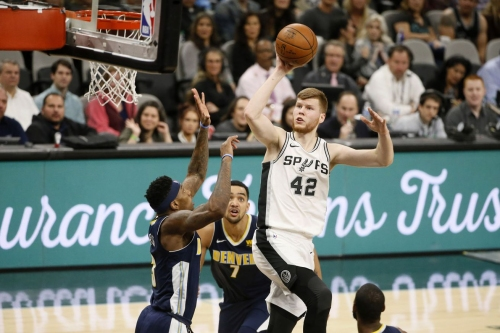 The Spurs have not figured out how to use Davis Bertans yet