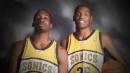 Kevin Durant, Jeff Green are the active players who have played for Seattle Supersonics