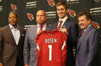 Josh Rosen becomes first top-10 pick to sign rookie deal