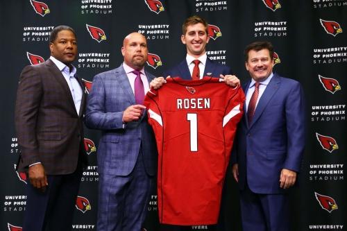 NFL news, 5/10: Will Josh Rosen be the Cardinals starter?