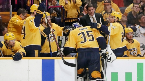 Preds' Rinne says he let his teammates down: 'It's a terrible feeling'
