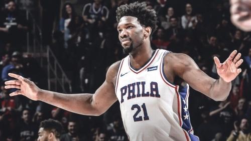 Joel Embiid is targeting the MVP award next season