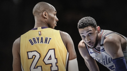 Ben Simmons doesn't plan to totally heed Kobe Bryant's advice