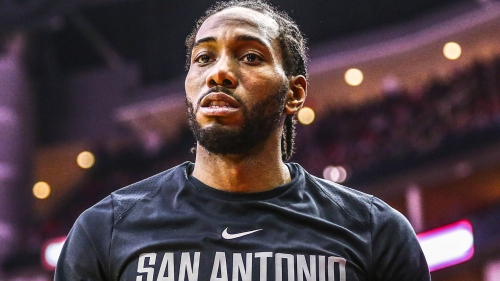 Kawhi Leonard spotted in Los Angeles at Dodgers game