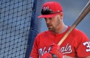 Nationals' catcher Matt Wieters headed for MRI on left leg...