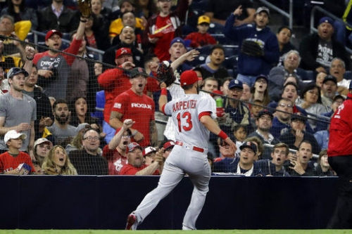 Gyorko owns Padres, but Matheny goes with Carpenter (.147) at third base
