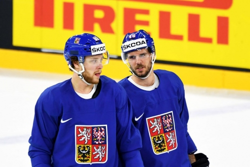 Check it out: Krejci and Pastrnak spoil Russia's undefeated streak at the IIHF Worlds!