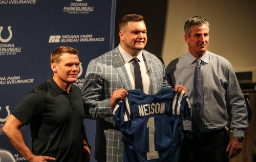 Quenton Nelson among nine Colts draft picks to ink deals